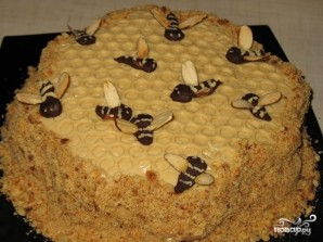 "Торт ""Соты"" - фото шаг 10"