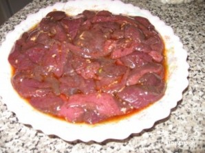 Печень по-китайски - фото шаг 3