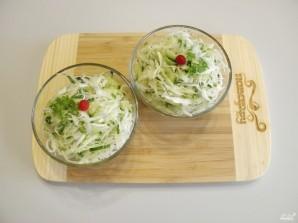 Салат из капусты - фото шаг 7