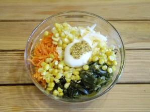 Салат к запеченной рыбе - фото шаг 5