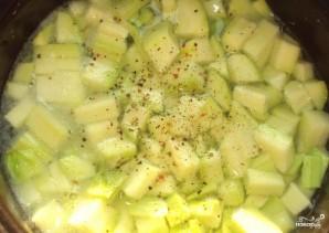 Суп из кабачков для похудения - фото шаг 3