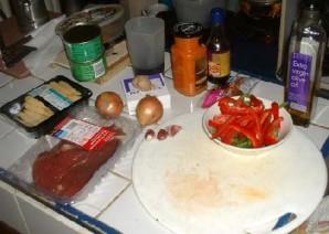 Тайская говядина чили - фото шаг 1