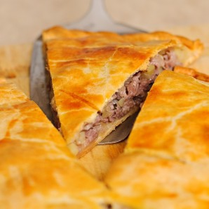 Мясной пирог - фото шаг 8