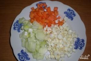 Суп со свининой и грибами - фото шаг 2