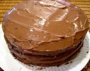"Рецепт ""Пражского"" торта - фото шаг 10"