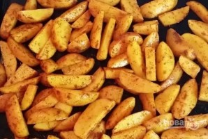 Печеная картошка - фото шаг 3