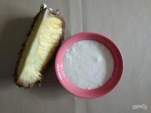 Банановое мороженое с ананасом - фото шаг 4
