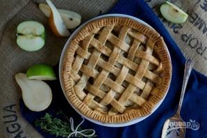 Грушево-яблочный пирог - фото шаг 7