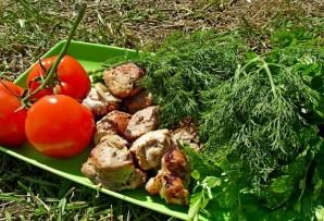Шашлык из свинины с луком - фото шаг 7