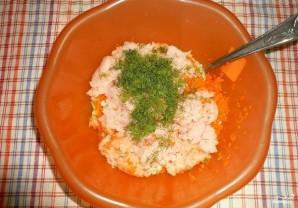 Куриные котлеты с морковью - фото шаг 3
