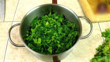 Чакапули (мясо в зелени и вине)  - фото шаг 3