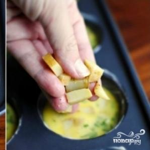 Суфле с картофелем и колбасками - фото шаг 9