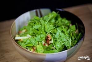 Салат из зелени - фото шаг 4