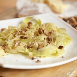 Салат из кабачков и орехов - фото шаг 4