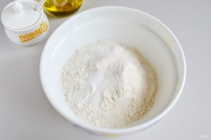 Пирог с ветчиной и стручковой фасолью - фото шаг 2