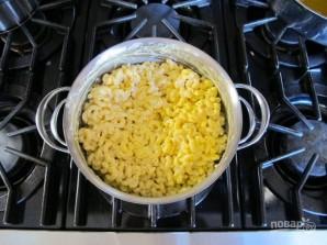 Запечённые макароны в сливочном соусе - фото шаг 4