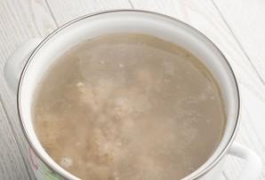Суп с перловкой и курицей - фото шаг 1