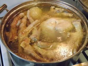 Холодец из куриных лапок - фото шаг 6