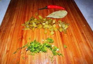 Вегетарианский бигус - фото шаг 4
