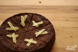 Шоколадные пирожные с имбирем - фото шаг 3