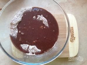 Очень шоколадные маффины с клюквой - фото шаг 7