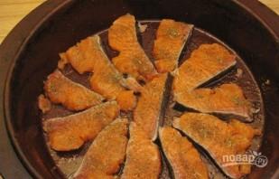 Рыба кета в духовке - фото шаг 1