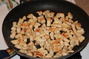 Курица в сметане с овощами - фото шаг 3