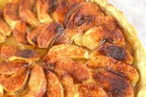 Шарлотка с яблоками открытая - фото шаг 9