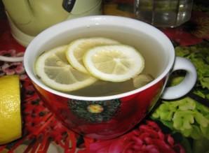 Зеленый чай с медом - фото шаг 5