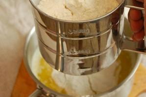 Заварное тесто с творожным кремом - фото шаг 2