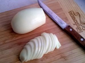 Картофель с грибами на сковороде - фото шаг 3
