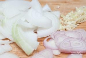 Куриное филе с овощами в духовке - фото шаг 1