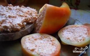 Болгарский перец с творогом - фото шаг 3