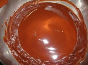 Брауни с черным шоколадом - фото шаг 3