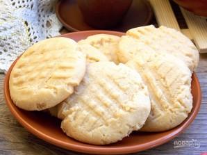 Простое арахисовое печенье - фото шаг 8