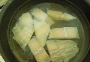 Суп из филе пангасиуса - фото шаг 1