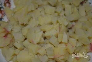 Куриный слоеный салат - фото шаг 5
