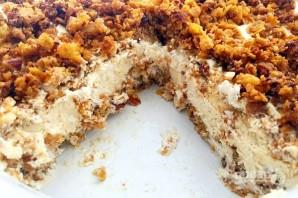 Торт из мороженого с хрустящей крошкой - фото шаг 7