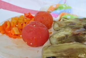 Армянский салат из печеных овощей - фото шаг 2