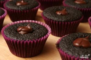 Шоколадные капкейки со сливочным кремом - фото шаг 5