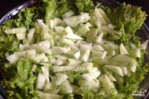 Салат с раковыми шейками - фото шаг 2