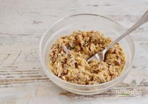 Рисовый пирог со скумбрией - фото шаг 6
