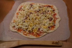 Пицца с индейкой - фото шаг 6