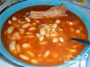 Суп фасолевый со свининой - фото шаг 5