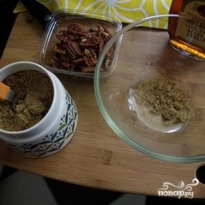 Салат из красной капусты, пекинской капусты и орехов - фото шаг 1