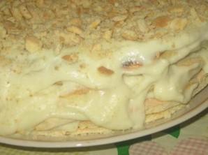 Пирог-минутка на сковороде - фото шаг 8