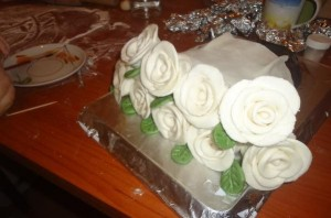 "Торт ""Букет цветов"" - фото шаг 18"