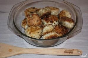 Куриные тефтели в сметанном соусе - фото шаг 7