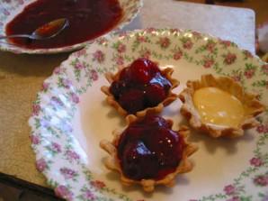 Тарталетки с ягодами - фото шаг 7
