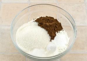 Постный кекс с вареньем - фото шаг 1